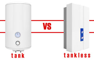 Tankless vs Traditional Water Heater